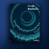 Vector brochure / booklet cover design templates collection