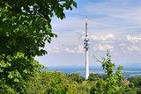 Landscape Broadcasting Tower