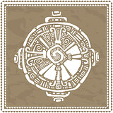 Hunab Ku.  Mayan symbol. Vector illustration.