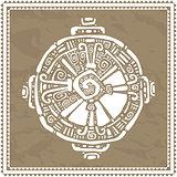Hunab Ku.  Mayan symbol. Vector illustration.