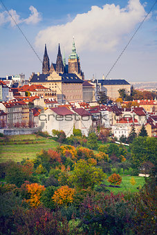 Autumn in Prague.