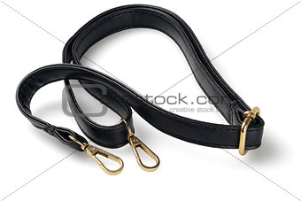 Black Leather Sling