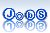jobs in blue circles