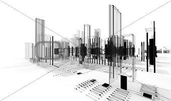 City blueprint.