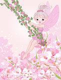 Pixy Fairy on a Swing
