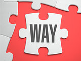 Way - Puzzle on the Place of Missing Pieces.