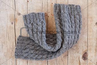 knitted wood legwarmers