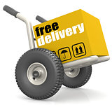 Packaging on dolly with free delivery
