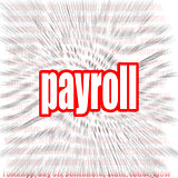 Payroll word cloud
