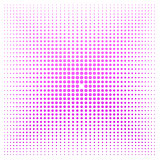 Pink dot with white background
