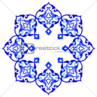 artistic ottoman pattern series ninety eight