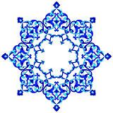 artistic ottoman pattern series ninety eight