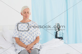 a patient waiting for a doctor
