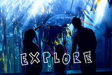 Composite image of explore