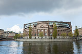 Riksdagen. Swedish parliament building