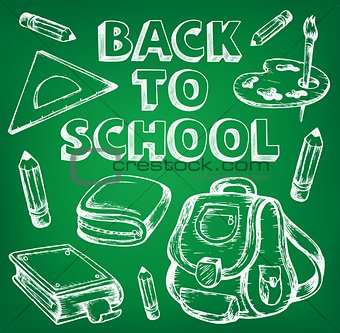 Back to school thematic image 7