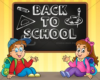 Back to school thematic image 9