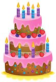 Birthday cake theme image 1
