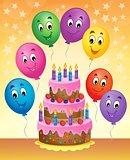 Birthday cake theme image 8