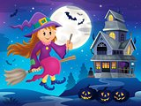 Cute witch theme image 3