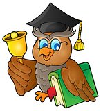 Owl teacher theme image 2
