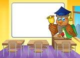 Owl teacher theme image 4