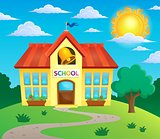 School building theme image 3