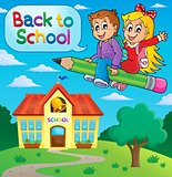 School kids theme image 9
