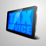 tablet Tax Advice