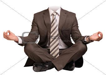 Businessman body