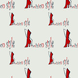 fashion seamless pattern
