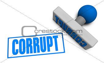 Corrupt Stamp