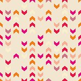 Chevron vector tile colorful pattern