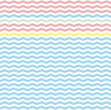 Zig zag tile vector pattern or seamless background.