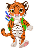 Tiger Go to School