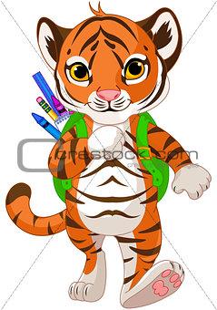 Tiger Go to School