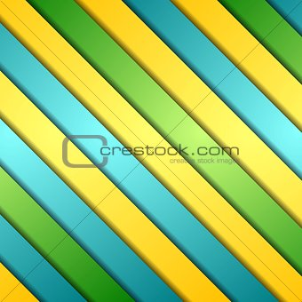 Abstract colorful stripes vector background
