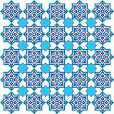 designed with shades of blue ottoman pattern series five
