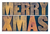 Meyy Xmas typography greeting card