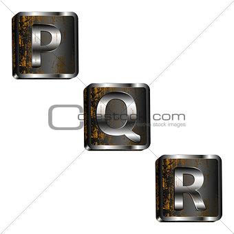 pqr iron letters