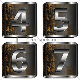 4567 iron digit