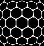 Latticed hexagons pattern. Textured background.