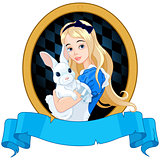 Alice with White Rabbit