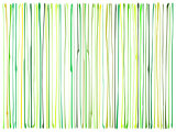 liquid organic green yellow lines pattern over white