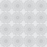 vector seamless gray background with ornament