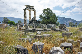 Athena Pronaia Sanctuary at Delphi