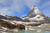 Mount Matterhorn in Switzerland