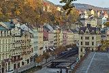 City center of Karlovy Vary
