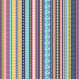 Colorful ethnic seamless pattern design