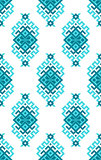 Ethnic vector seamless pattern with traditional ornament elements.